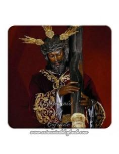 Imán cuadrado de plastico de Ntro. Padre Jesús de la Salud de Sevilla (Los Gitanos)
