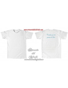 Camiseta Costalero por la gracia de Dios