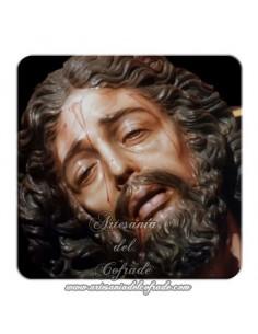 Imán cuadrado de plastico del Cristo de Santa Marta de Sevilla