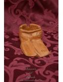 Cenicero en terracota con forma de costal