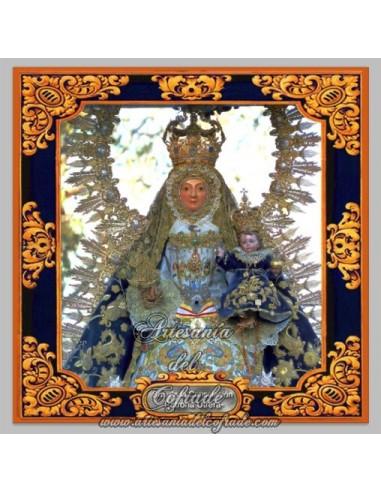 Azulejo de Ntra. Sra. de la Consolación (Patrona de Utrera)