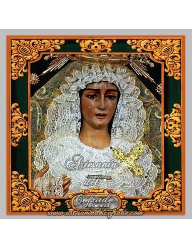 Azulejo de Ntra. Sra. de la Esperanza de Huelva.