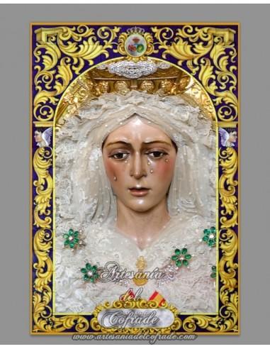 Se vende mosaico de cerámica de la Esperanza Macarena de Sevilla