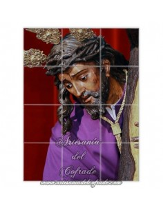 Retablo de 12 azulejos del Cristo de las Tres Caidas de Triana