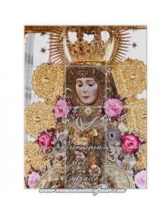 Retablo de 12 azulejos de la Virgen del Rocio