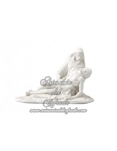 Virgen de las Angustias de 17 x 13 cm