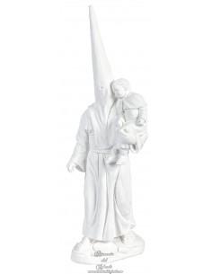 Nazareno con niño en brazos de escayola 26 ctm