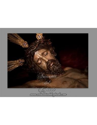 Azulejo rectangular del Stmo. Cristo del Buen Fin de Sevilla