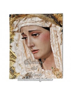 Toallita Limpia Gafas con la Virgen del Carmen Doloroso de Sevilla