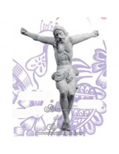 Crucificado de la Sed de Sevilla de escayola de 17 cm