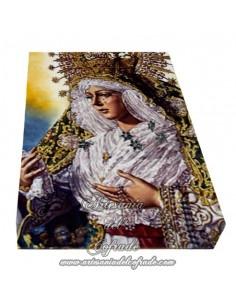 Lienzo con bastidor 20x30 reprodución con la Virgen Macarena