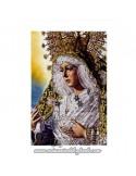 En venta Lienzo con bastidor 20x30 reprodución con la Virgen Macarena