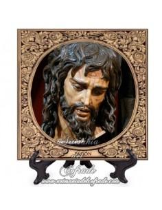 Azulejo del cristo de Pasión de Málaga