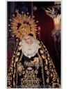 Azulejo rectangular de los Titulares de la Sagrada Mortaja Lanzada de Sevilla