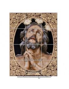 Retablo de 12 azulejos del Cristo de las Penas de la Estrella ( Sevilla)