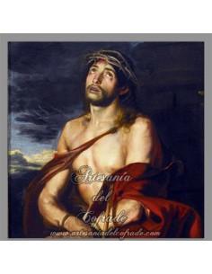 Placa madera 15x15 de Jesús Ecce Homo