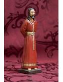 Figura de la bofeta de Sevilla de 18 ctm tunica roja