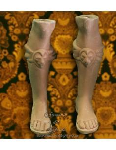 Juego de piernas para Reyes Magos para Belen napolitano 35 ctm