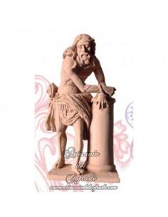 Figura del Cristo de la Cigarrera de Sevilla de 16 X 8 cm