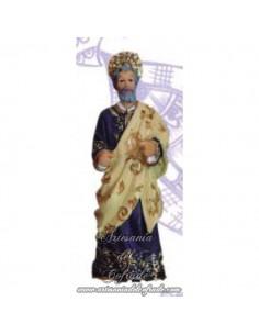 Figura evangelista mod:3 del paso de la borriquita sin pintar de 8 ctm.