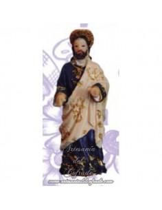Figura evangelista mod:4 del paso de la borriquita sin pintar de 8 ctm.