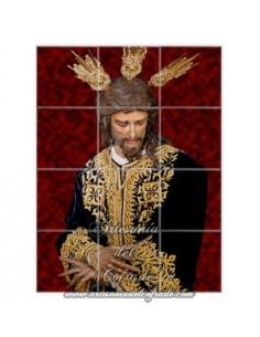 Retablo de 12 azulejos del Cristo de San Gonzalo de Sevilla