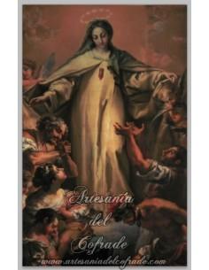 Se vende esta cerámica rectangular de la Virgen de la Merced - Tienda Cofrade