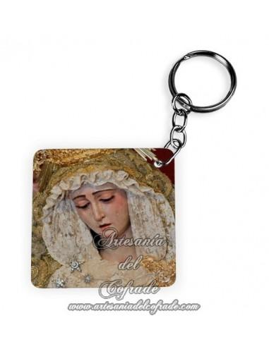 Llavero Cuadrado de la Virgen del Rosario de Montesión