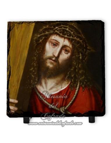 Pizarra 10x10 con rostro de Jesús Nazareno