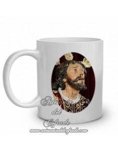 Taza de cerámica del Cristo de la Oración en el Huerto de Sevilla -Montesión-