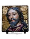 Pizarra cuadrada del Cristo de la Borriquita de Sevilla