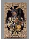 azulejo rectangular de Ntro Padre Jesús de la Salud (Hermandad de los Gitanos)