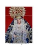 Retablo de 12 azulejos de la Virgen de Guadalupe (Sevilla)