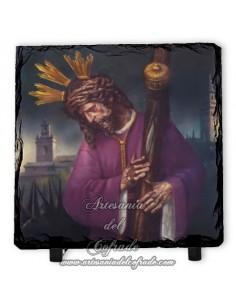 Pizarra cuadrada de Jesús del Gran Poder de Sevilla