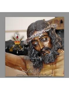 Azulejo cuadrado del Cristo de Mena (Cristo de los legionarios)