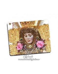 Bonita alfombra de ratón de la Virgen del Rocio