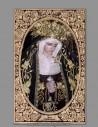 Azulejo rectangular de la Virgen del Amor Doloroso (Hermandad de Pasión , Málaga)
