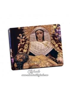 Bonita alfombra de ratón de la Virgen de la Piedad ( Hermandad del Baratillo,Sevilla)