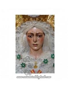 Lienzo con bastidor 20x30 de Nuestra Señora de la Esperanza Macarena