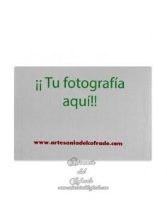 Puzzle cartón 20x29 ctm para personalizar con tu fotografía