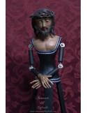 Cristo de vestir de 60 ctms policromado al oleo.