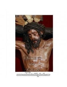Lienzo con bastidor 20x30 del Cristo de la Conversion de Montserrat de Sevilla