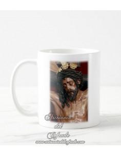 Taza con fotografia del Cristo de la Conversión de Montserrat de Sevilla
