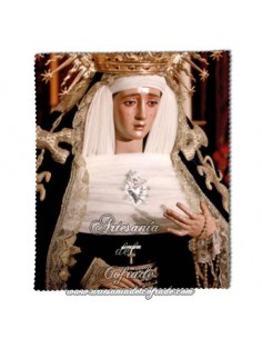 Toallita Limpia Gafas con la Virgen de Montserrat de Sevilla