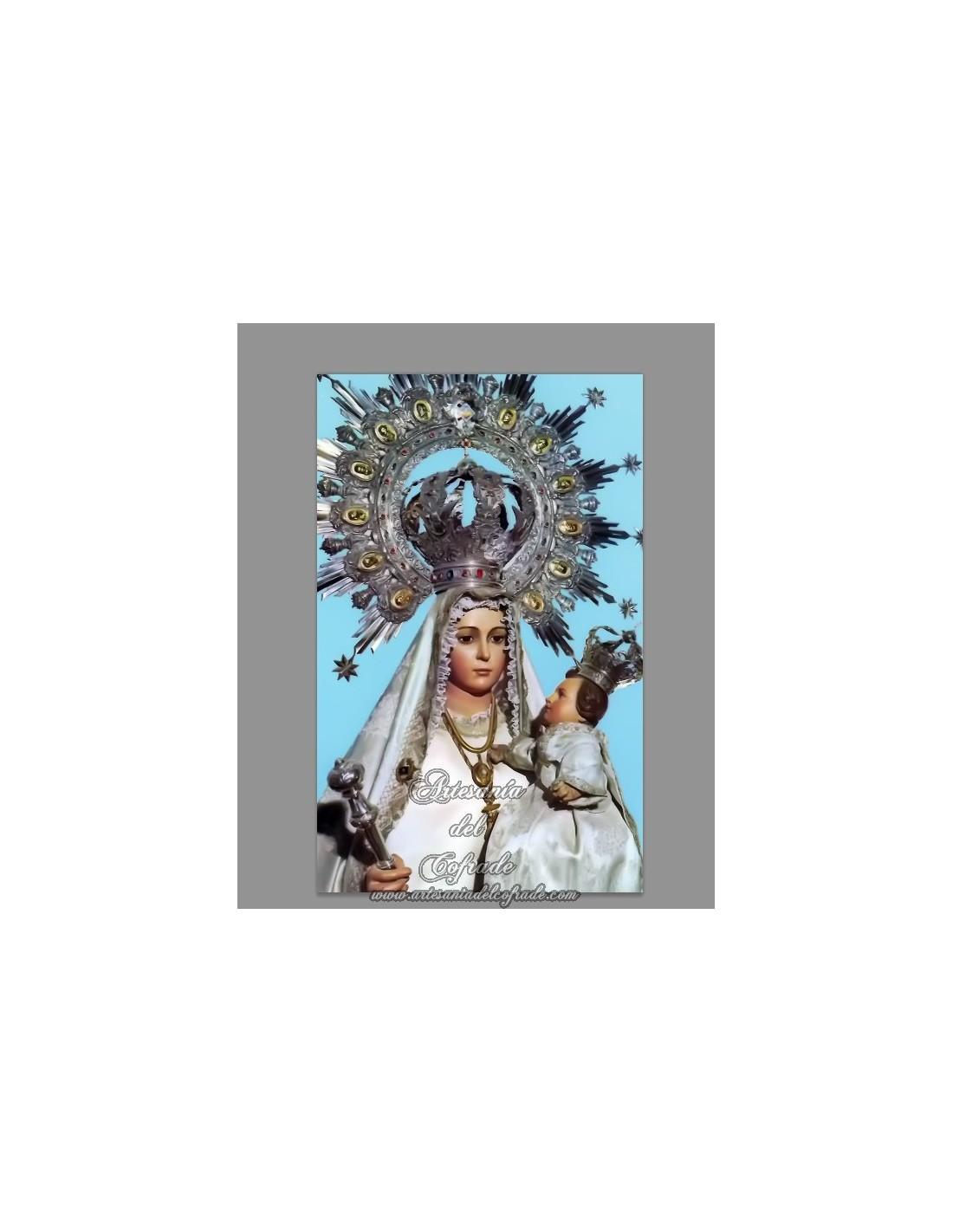 Azulejo rectangular de la virgen de linarejos tienda for Azulejos jerez de la frontera