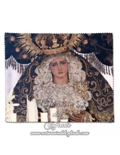 Toallita Limpia Gafas con la Virgen de la HIniesta de Sevilla