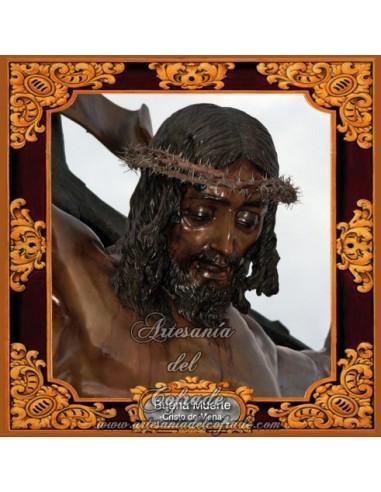 Azulejo cuadrado del Cristo de Mena (El cristo de los legionarios)