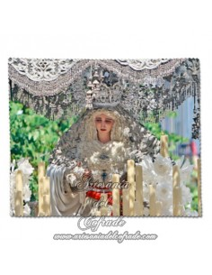 Toallita Limpia Gafas con la Virgen de la Paz de Sevilla