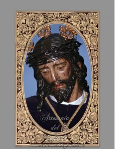 Azulejo rectangular de Nuestro Padre Jesús Nazareno de Huelva