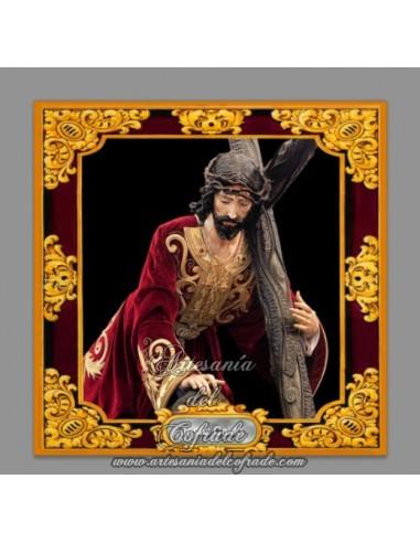 Se vende esta cerámica cuadrada de Jesús caido de Cádiz - Tienda Cofrade
